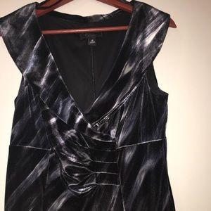 Collection Dressbarn velvet sheath dress - 10 (M)